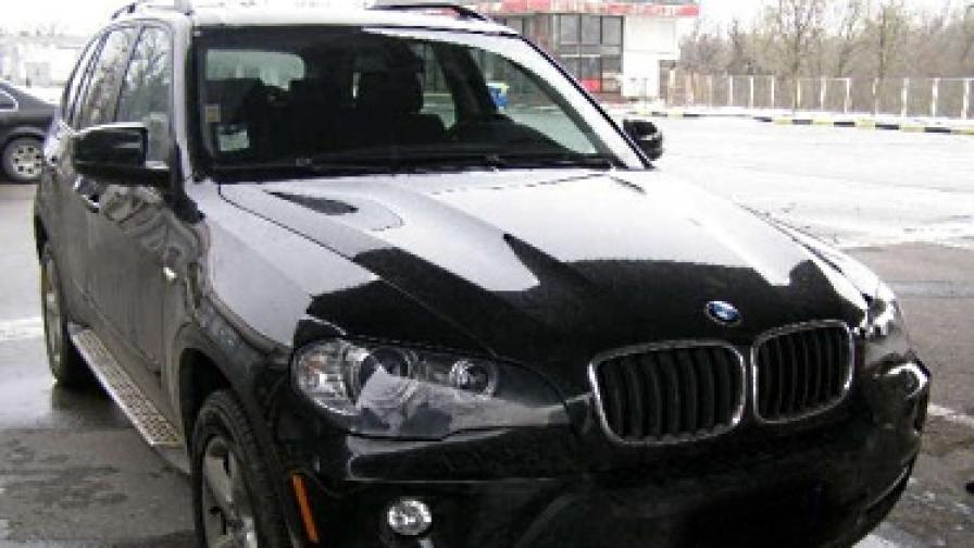 Луксозен автомобил с фалшиви документи, заловен от гранични полицаи на ГКПП – Капитан Андреево