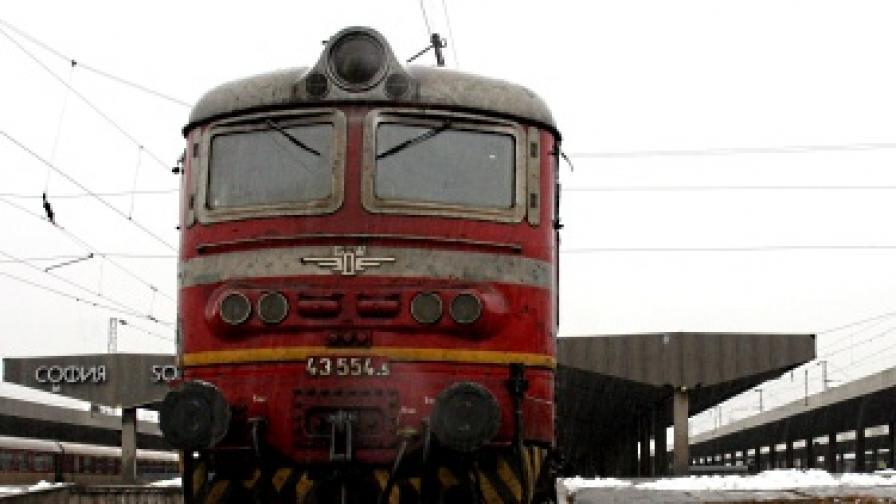 Три вагона от влака Бургас-София дерайлираха
