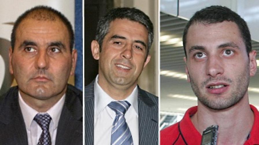 """Тримата фаворити в надпреварата за """"Мъж на годината 2010"""""""