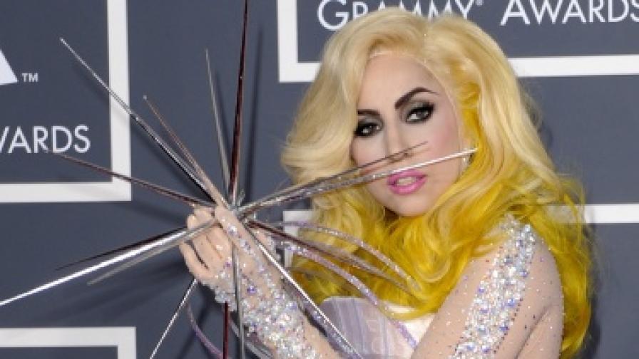 Лейди Гага с триумф на европейските Ем Ти Ви награди