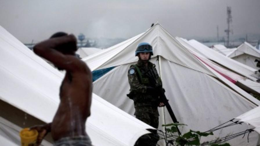 Хаитяни: Миротворците ни донесоха холерата