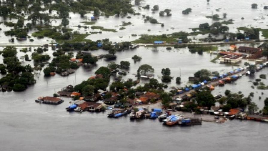 Амазонка е считана за най-пълноводната река в света