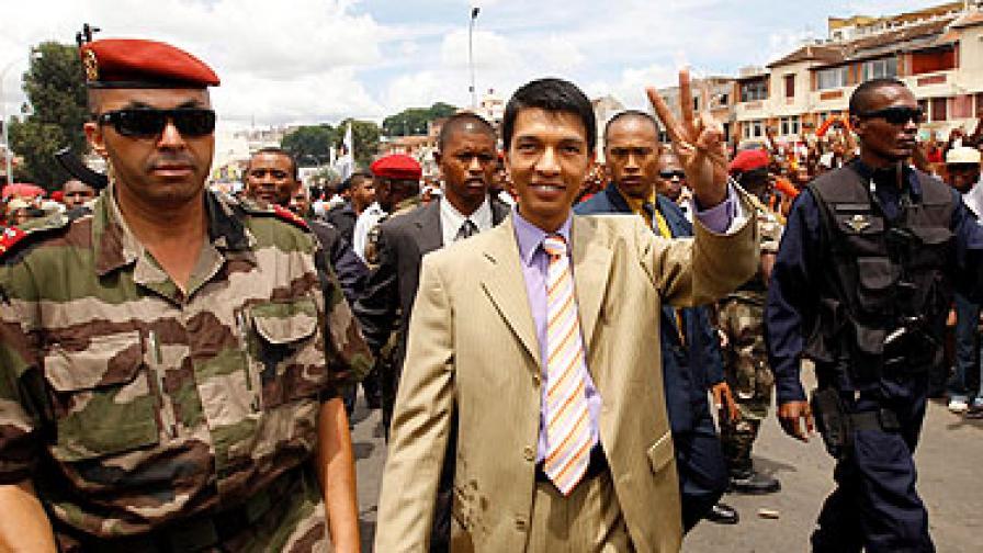 Неуспешен преврат в Мадагаскар