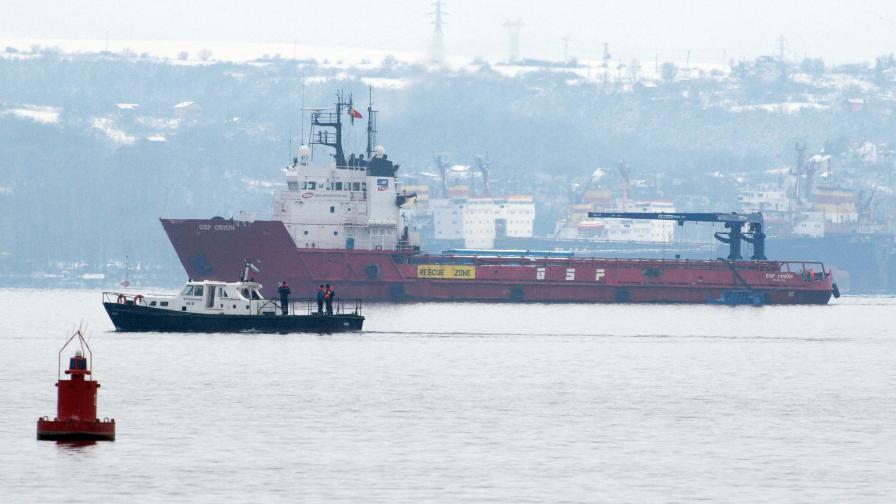 Втори кораб срещу нефтено бедствие в морето ни