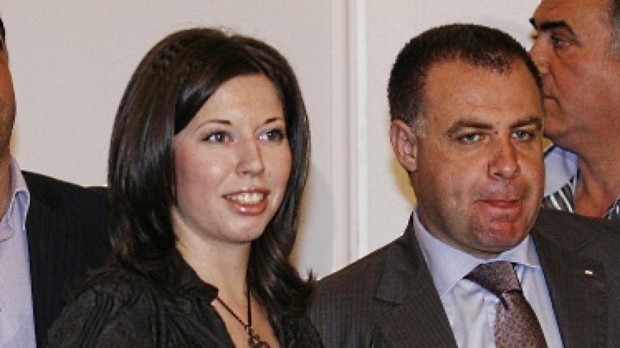 Калина Илиева и Мирослав Найденов