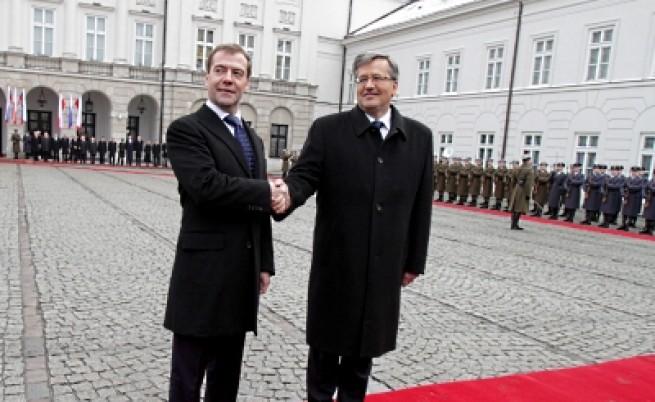Полша и Русия правят историческа крачка напред