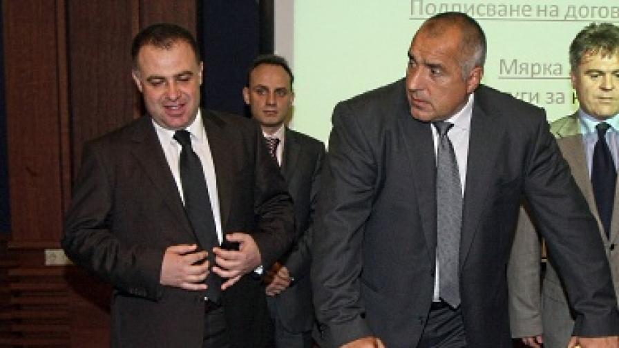 Борисов: ДАНС се занимава с министерството на земеделието
