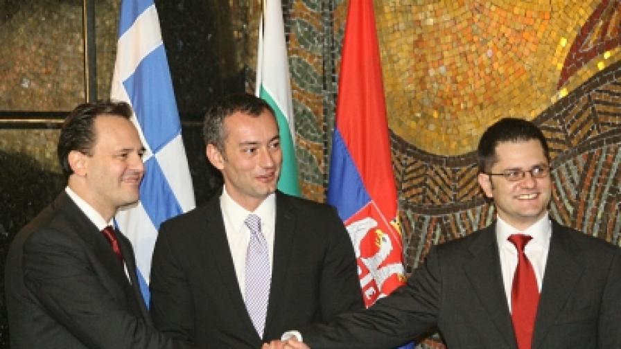 България, Гърция и Сърбия - среща на министри в София