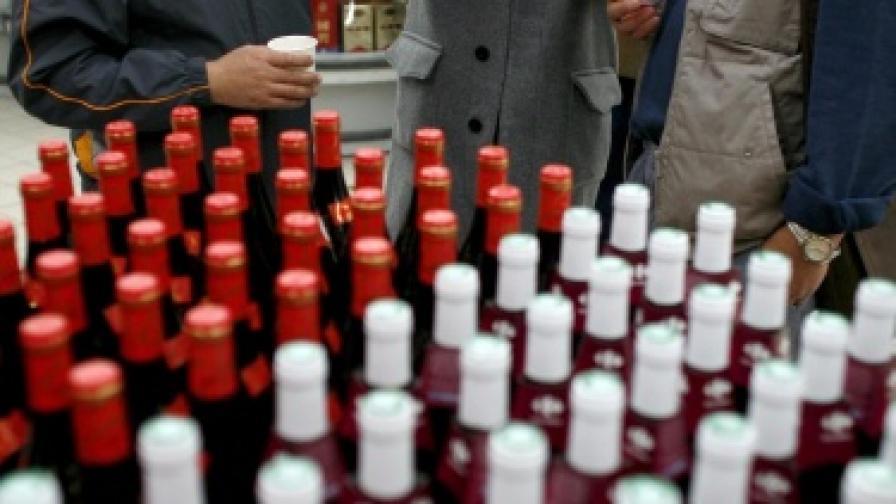 Скандал с отровно вино в Китай