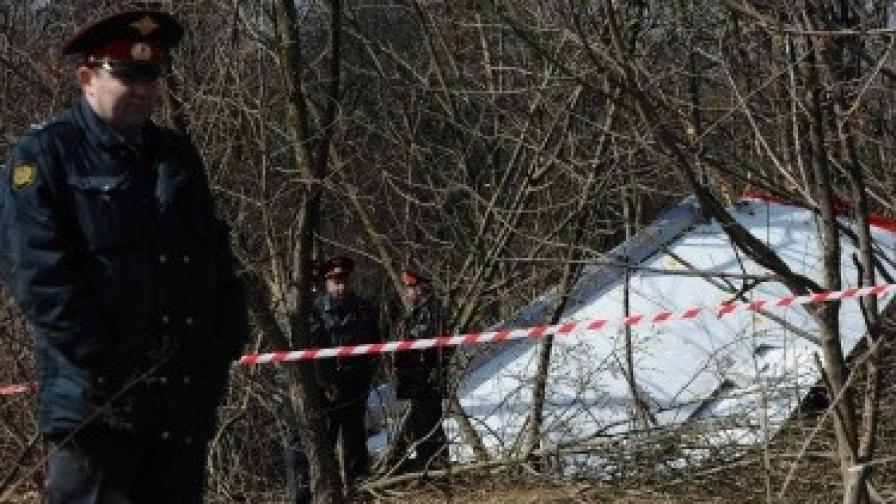 Руски военнотранспортен самолет падна, загинали са всички