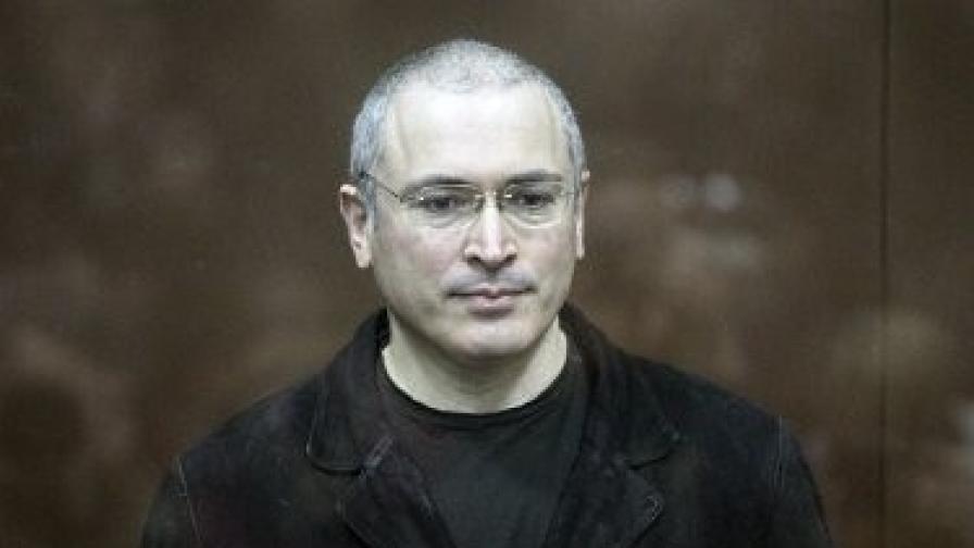 Михаил Ходорковски в московския съд