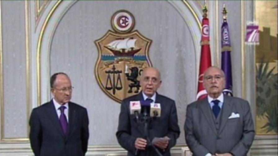 Президентът на Тунис избяга от страната