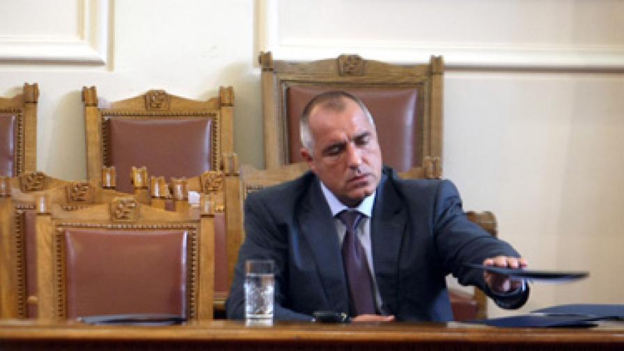 Борисов ще иска вот на доверие на правителството