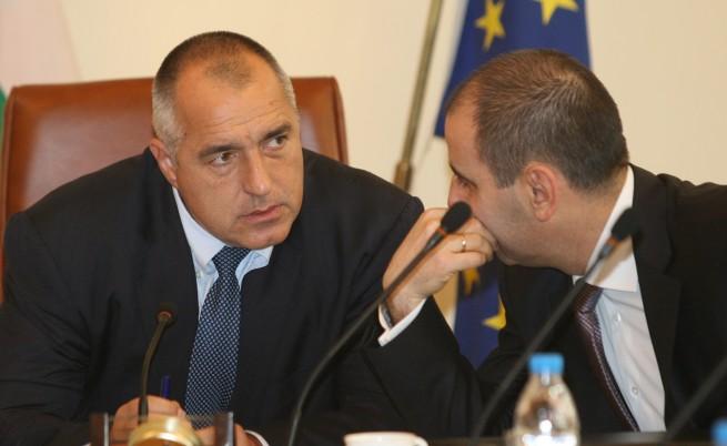 Борисов: Дянков е свидетел, Първанов се обади