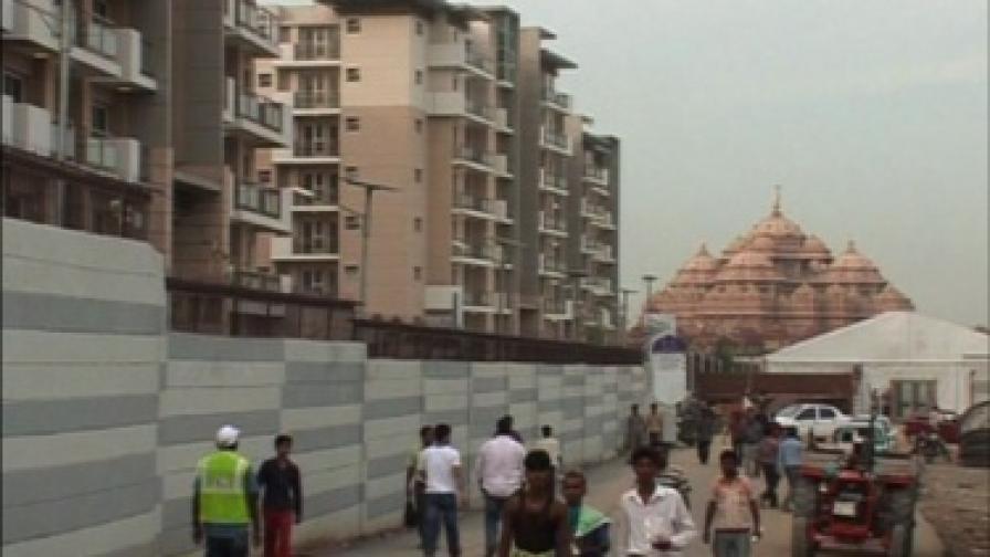 Болезнената промяна на индийската столица Делхи