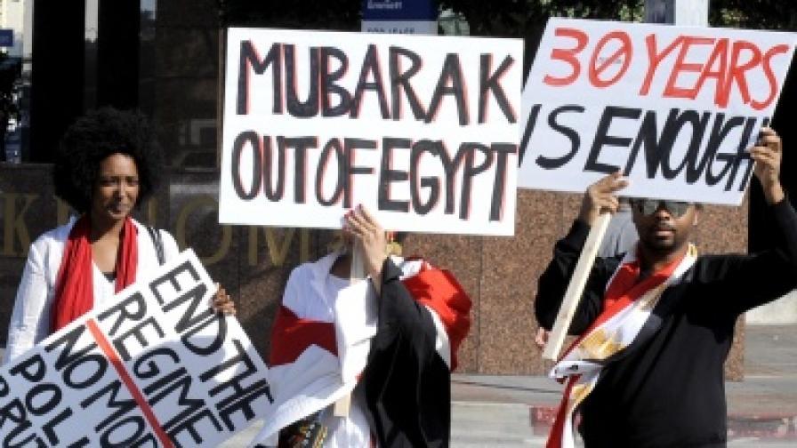 Армията - последното убежище на Мубарак