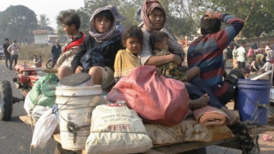 Тайланд и Камбоджа във въоръжен конфликт