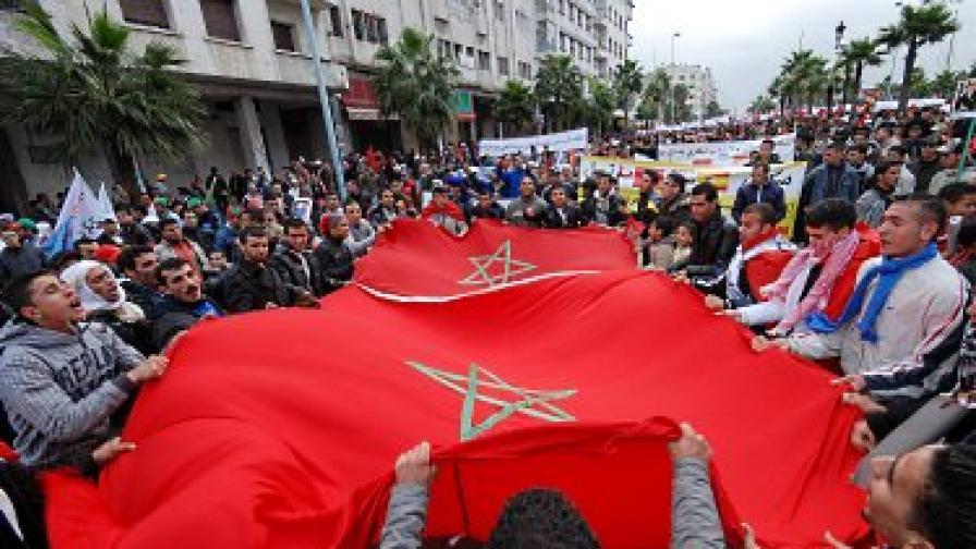 """Ислямистко движение в Мароко призовава за """"незабавни демократични промени"""""""