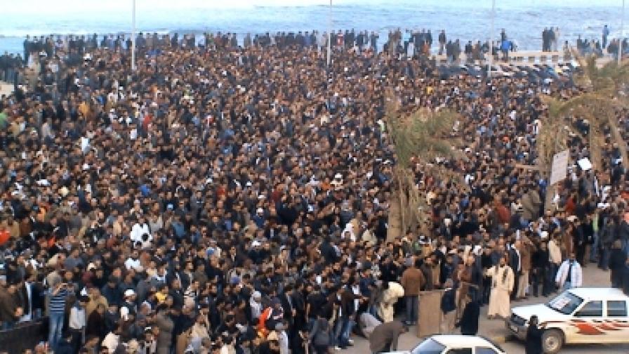 Протестът в Бенгази