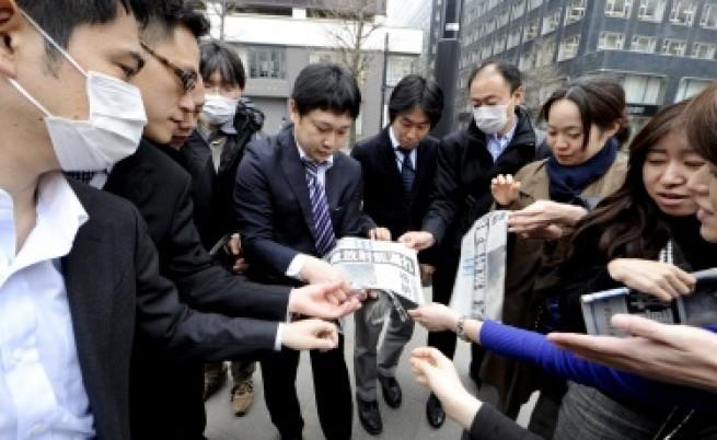 Япония: Радиацията в района на централата спада