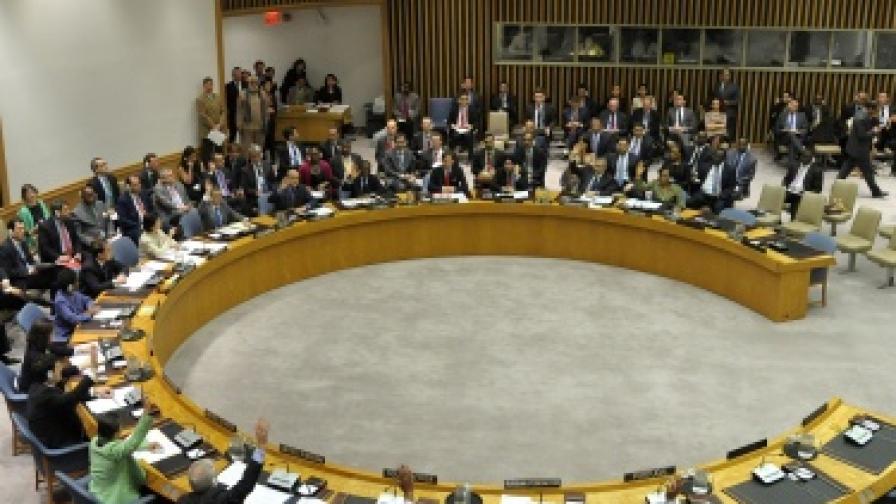 ООН гласува за удари срещу Либия