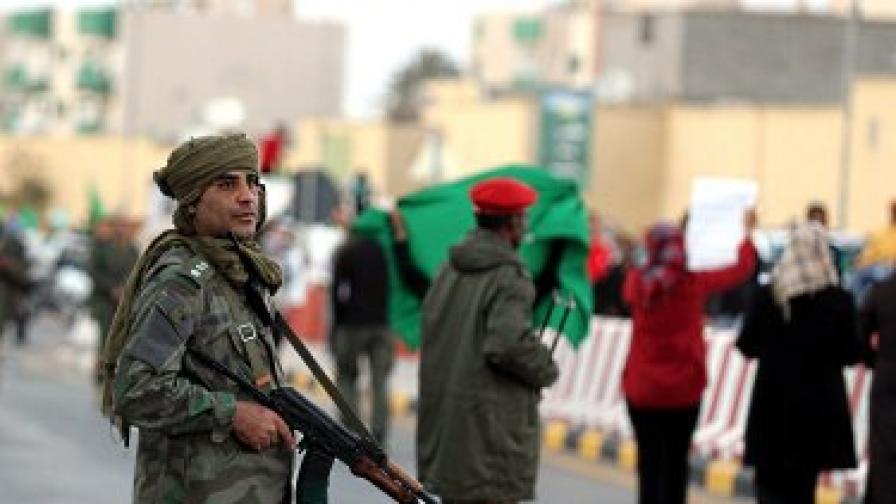 Либийски войник