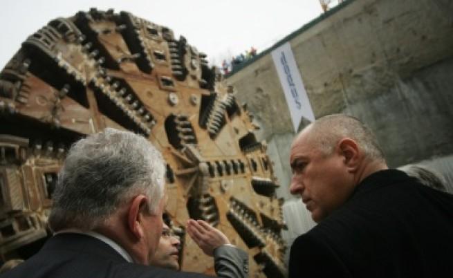 Борисов: Пускаме метрото 2 м. предсрочно и строим стадион в
