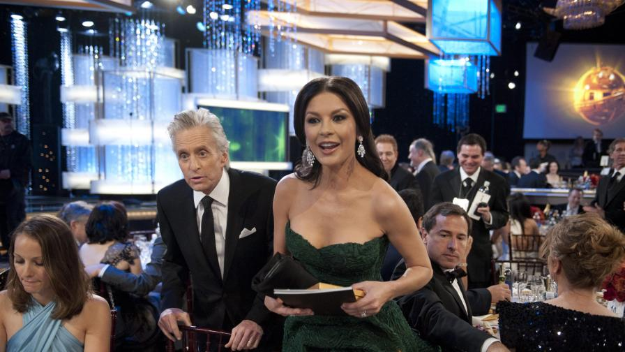 Катрин Зита-Джоунс със съпруга си Майкъл Дъглас