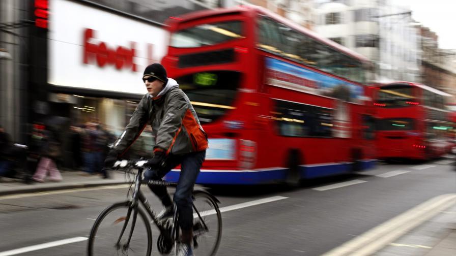 Таксата за достъп до центъра на Лондон не е подобрила качеството на въздуха