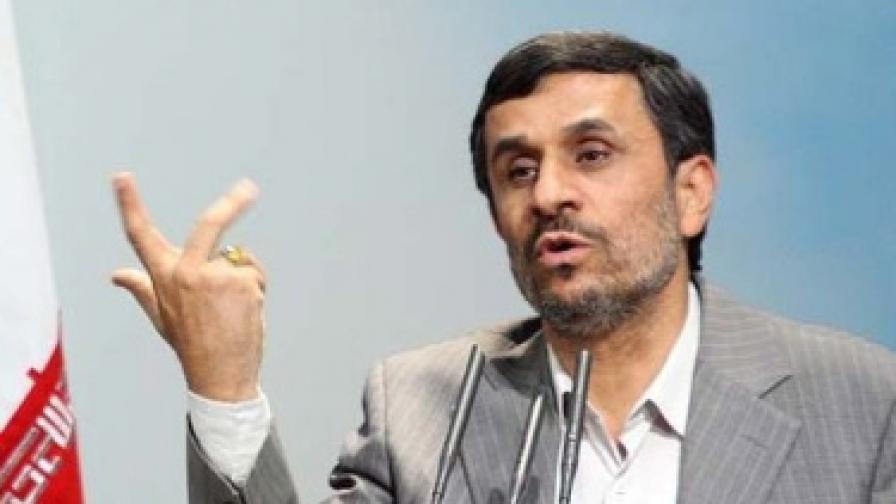 Експлозия при посещение на иранския президент