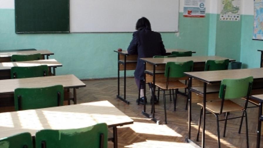 Стогодишна баба тръгна на училище