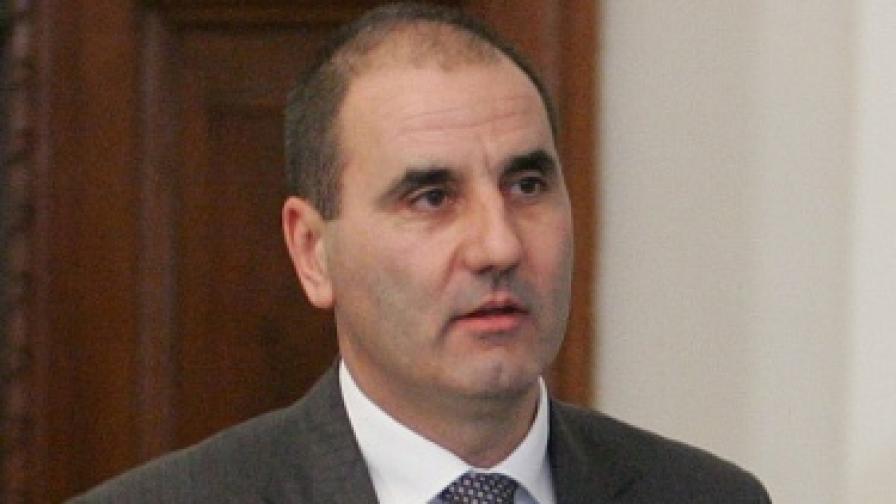 Вътрешният министър Цветан Цветанов