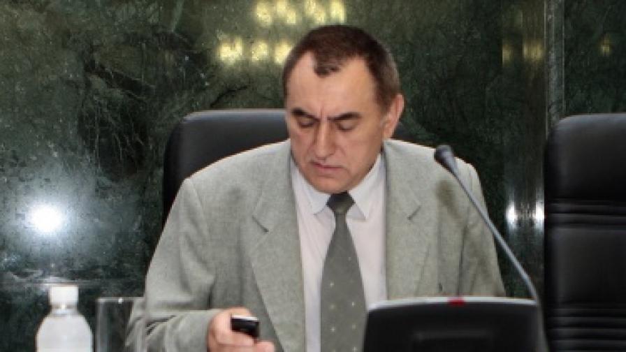 Стойко Стоев докато беше член на ВСС, 2008 г.