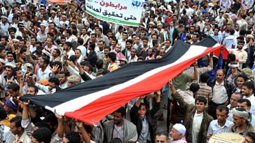 Салех нямало да се върне в Йемен