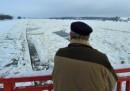 Река Одер на границата между Германия и Полша