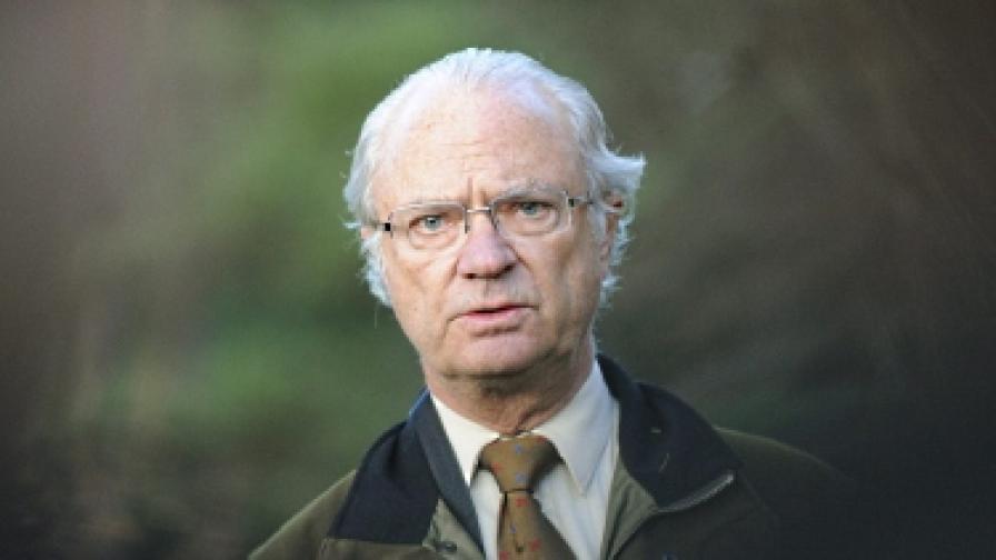 Шведската полиция арестува сърбин, изнудвал крал Густав
