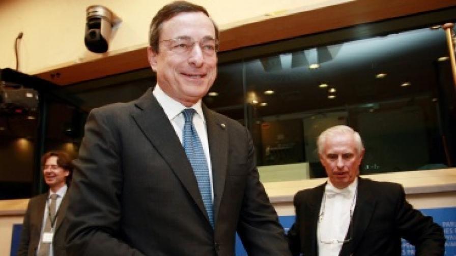 Италианецът Марио Драги поема ЕЦБ от 1 ноември