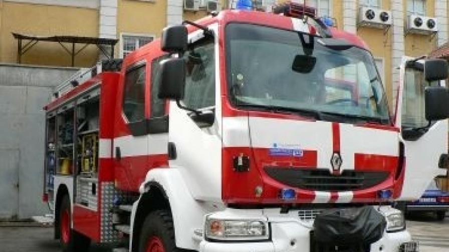 Четири къщи изгоряха при пожар в Пловдив
