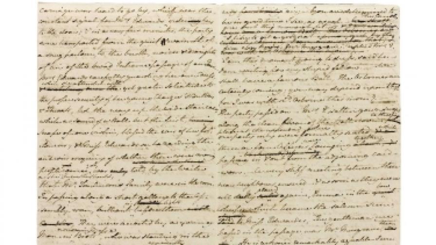 Ръкопис на Джейн Остин е продаден за 1 млн. паунда
