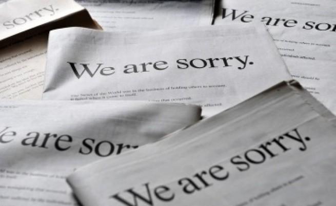 Мърдок се извинява с всички сили на британците