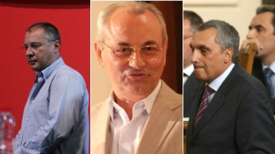 Фидосова: Станишев, Доган и Костов са триглава ламя
