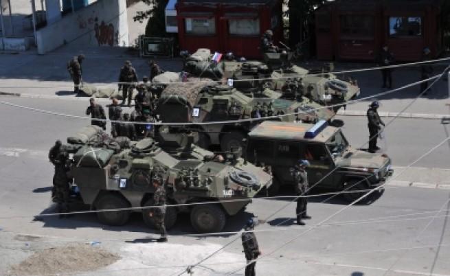 НАТО обяви военна зона на косово-сръбската граница