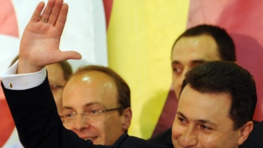 Македония: Груевски с трети премиерски мандат