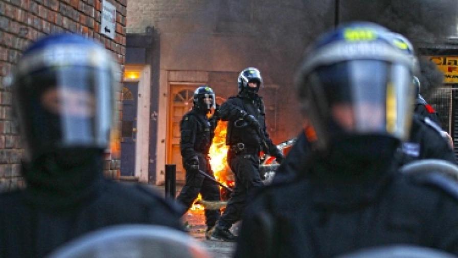 Хроника на най-големите бунтове във Великобритания през последните 30 години