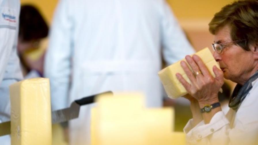 Над 2 тона млечни продукти конфискуваха в Пловдив