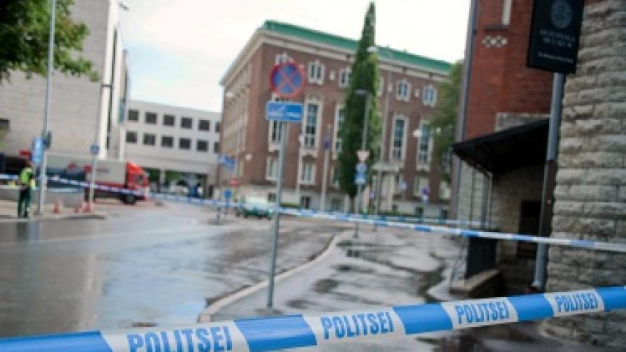 Въоръжен мъж нападна естонското министерство на отбраната