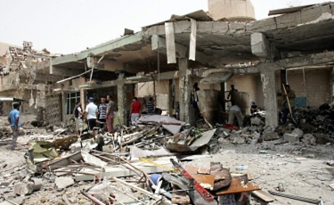 Касапница в Ирак: Близо 70 убити при серия атентати
