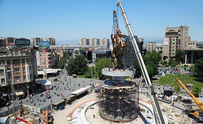 Още един Александър Македонски в Скопие