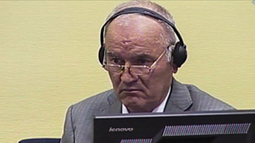 Ратко Младич в съда