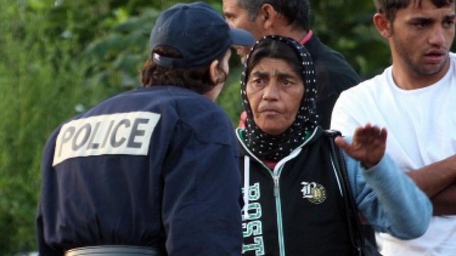 Във Франция експулсират наши роми с трамваи